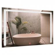 Зеркало прямоугольное с LED подсветкой SmartWorld Piano 70x120x3 см (1014-d176-70х120х3)