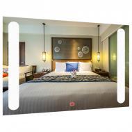 Зеркало прямоугольное с LED подсветкой SmartWorld Astreya 80x120x3 см (1015-d186-80х120х3)