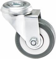 Колесо поворотне з отвором d50 мм 3056-50
