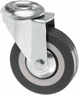Колесо поворотне з отвором d75 мм