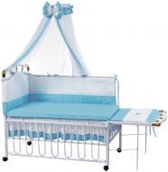 Ліжечко дитяче Geoby TLY-612R-RBLU 8978