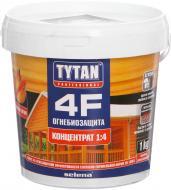 Огнебиозащита Tytan 4F 1:4 красный 1 кг