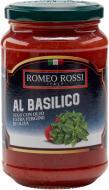 Томатний соус Romeo Rossi з базиліком 350 г (8033102662045)