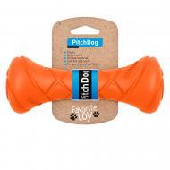 Іграшка PitchDog гантель для апортування 19x7 см помаранчевий