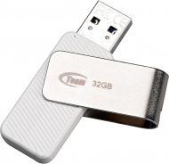 Флеш-пам'ять USB Team C142 32 ГБ USB 2.0 white (TC14232GW01)