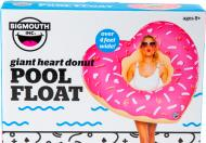 Коло надувне Bigmouth Круг надувний Пончик у вигляді серця