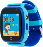 Смарт-часы AmiGo детские влагозащищенные GO001 blue (458091)