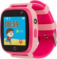 Смарт-часы AmiGo детские влагозащищенные GO001 pink (458092)