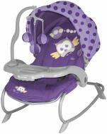 Шезлонг Lorelli Dream Time violet baby owl 15985