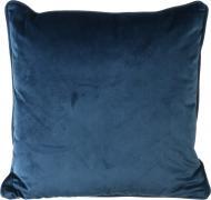 Подушка Велюр 45x45 см темно-синій La Nuit
