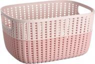 Кошик для зберігання Ardesto AR1768BP Sweet Home 6,8 л рожева AR1768BP 150x28,6x21,5 мм