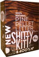 Наповнювач для котячого туалету Shitty Kitty деревний 4 кг