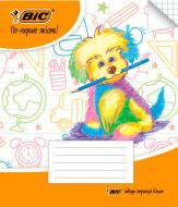 Тетрадь школьная в клетку 12 листов BIC
