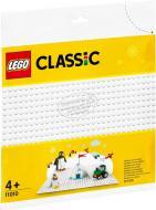 Конструктор LEGO Classic Біла базова пластина 11010