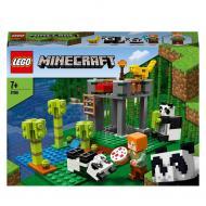 Конструктор LEGO Minecraft Ферма панд 21158