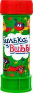 Мильні бульбашки Булька Bubble 60 мл Фрукти