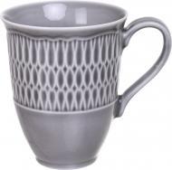 Чашка Sofia 300 мл фарфоровая серая Cmielow