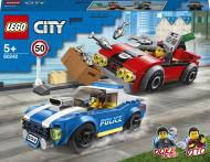 Конструктор LEGO City Поліцейський арешт на автостраді 60242