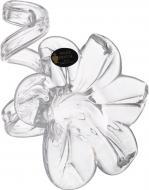 Подсвечник FLOWER 6PT TR CLEAR White cristal