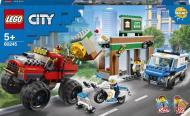 Конструктор LEGO City Пограбування з поліцейською вантажівкою-монстром 60245