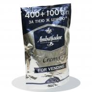 Растворимый кофе Ambassador Crema растворимый 500 гр (8719325020588)