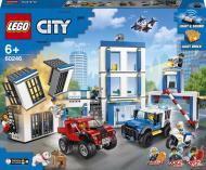 Конструктор LEGO City Поліцейська дільниця 60246