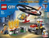 Конструктор LEGO City Пожежний загін на вертольоті 60248