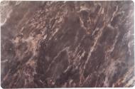 Коврик для сервировки Мрамор 43,5x28,5 см черный Flamberg