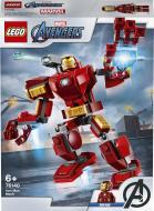 Конструктор LEGO Super Heroes Marvel Робокостюм Залізної Людини 76140