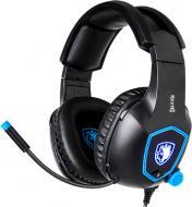 Гарнітура Sades SA-905 Dazzle black/blue (sa905bku)