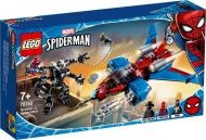 Конструктор LEGO Super Heroes Спайдерджет проти робокостюма Венома 76150