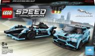 Конструктор LEGO Speed Champions Автомобілі Formula E Panasonic Jaguar Racing GEN2 та Jaguar I-PACE eTROPHY 76898