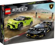 Конструктор LEGO Speed Champions Автомобілі Lamborghini Urus ST-X та Lamborghini Huracan Super Trofeo EVO 76899