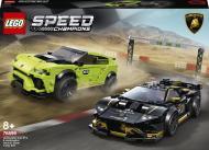 Конструктор LEGO Speed Champions Lamborghini Urus ST-X та Lamborghini Huracán Super Trofeo EVO 76899