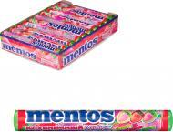 Цукерки жувальні Perfetti - Van Melle драже жувувальні Mentos Полуничний мікс 37 г
