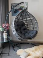 Кресло-кокон Indigo Колибри 1200х730х1050 см серый