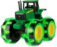 Трактор Tomy John Deere Monster Treads з великими колесами що світяться 46434B 1:24