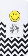 Книга для нотаток Be your self 128 аркушів Smiley