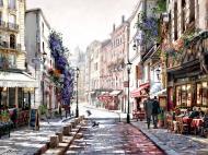 Репродукция Streets of Paris 80x60 см Styler