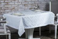 Скатертина Diana водовідштовхувальна 150x260 см білий ITA Dream