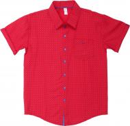 Рубашка детская Лідер Джі р.134 белый 11114