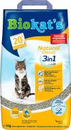 Наповнювач для котячого туалету Gimpet Класік Натурал (3в1), 5 кг