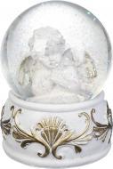 Декорація новорічна Куля Янгол 10 см ZY16413K
