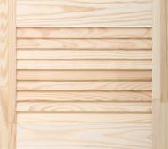 Жалюзійні дверцята соснові 395х444 мм