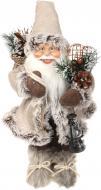 Декоративна фігура Дід Мороз беж S1808B 40 см