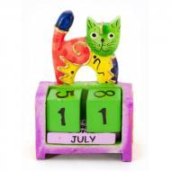 Календарь настольный Кошка дерево (10х7х4 см) 29676B