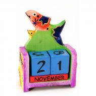 Календарь настольный Рыба дерево (10х7х4 см) 29676D