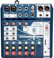 Пульт Soundcraft Микшерный NOTEPAD-8FX 5085984EU