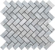 Плитка KrimArt мозаїка МКР-5П Mix White 30,3x32,5 cм