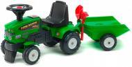 Трактор з причепом Falk Baby Farm Master зеленый 1081C